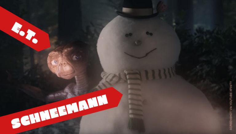 E.T. der Außerirdische kommt an Weihnachten zurück