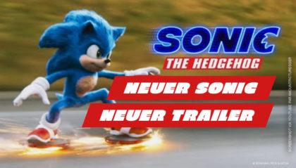 Sonic-The-Hedgehog-Film-Trailer (Deutsch) mit neuem Sonic-Design