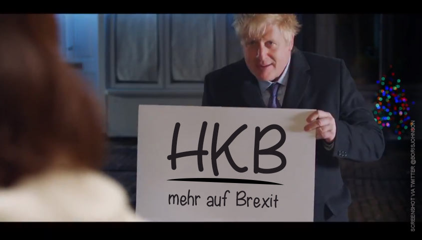 Brexit, actually - Boris Johnson Love Actually Meme