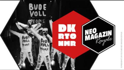 Deichkind Bude Voll People mit RTO Ehrenfeld im Neo Magazin Royale Live