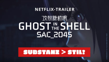 Ghost In The Shell: SAC_2045 Trailer zur Netflix-Serie