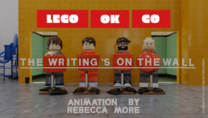 OK Go Musikvideo The Writing's on the Wall als LEGO-Version