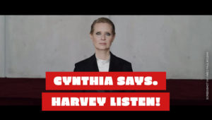 Be A Lady They Said Video von Cynthia Nixon (Sex And The City) gegen Harvey Weinstein