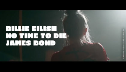 Billie Eilish James-Bond-Titelsong No Time To Die (Offizielles Musikvideo)