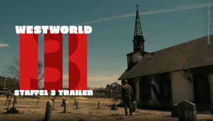 Westworld Staffel 3 – Offizieller Trailer mit Aaron Paul