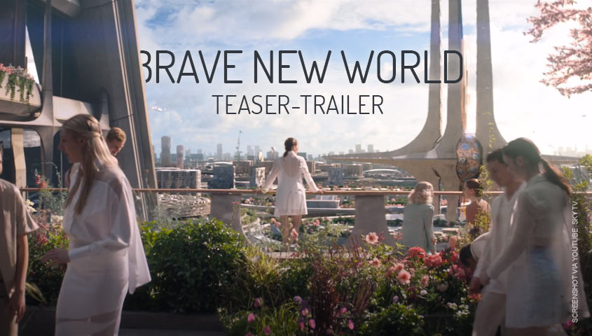 Brave New World Serie Teaser-Trailer Deutsch