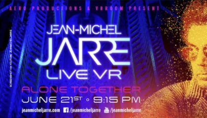 Jean-Michel Jarre - Alone Together (Live VR-Konzert mit Matrix-Avatar)