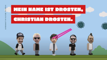 Christian Drostens eigener Coronavirus-Song Ich habe Besseres zu tun von der Punkband ZSK