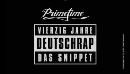 Vierzig Jahre Deutschrap Snippet von DJ Primetime